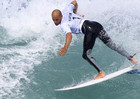 Eleven-time world title-winner Kelly Slater (Reuters)